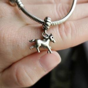 Retired Pandora Horse Charm